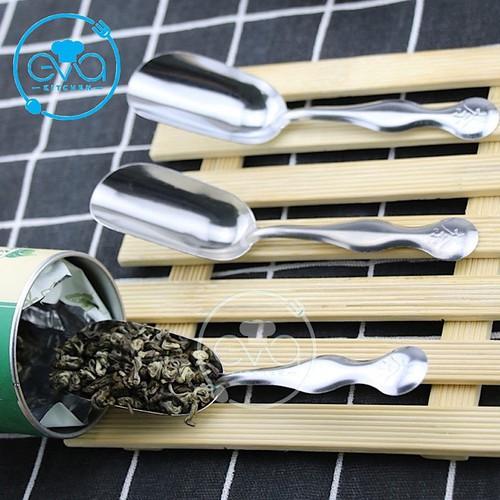 Set 2 muỗng múc trà inox teaspoon