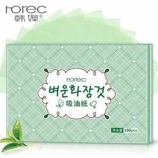 Gói 100 tờ giấy thấm dầu rorec - GTDR thumbnail