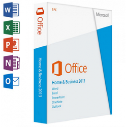 Microsoft Office 2013 Home and Business for Windows 3264 Bit