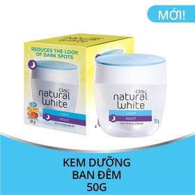 Olay Natural White Kem dưỡng trắng da ban đêm 50G - 4902430374293