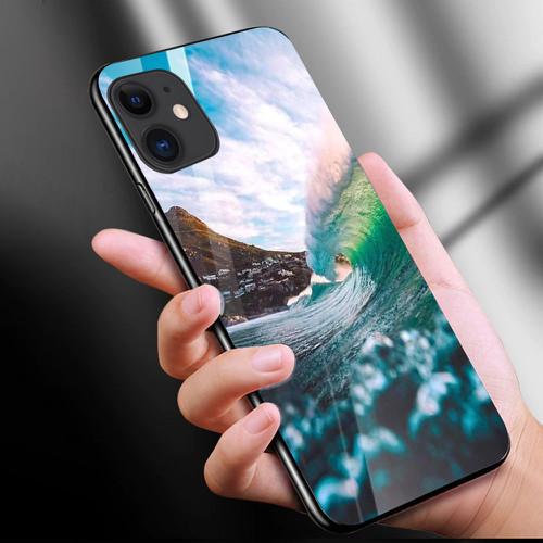 Ốp điện thoại kính cường lực cho máy iphone 11 - phong cảnh nét đẹp tự nhiên ms pcndtn017