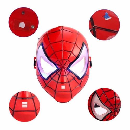 Mặt nạ người nhện có đèn mặt nạ siêu anh hùng spiderman mask chirita 7790 zshop - 21066139 , 24196175 , 15_24196175 , 60000 , Mat-na-nguoi-nhen-co-den-mat-na-sieu-anh-hung-spiderman-mask-chirita-7790-zshop-15_24196175 , sendo.vn , Mặt nạ người nhện có đèn mặt nạ siêu anh hùng spiderman mask chirita 7790 zshop