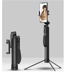 Gậy Selfie hỗ trợ vLogger cao cấp ổn định video All-in-One A21 - Black
