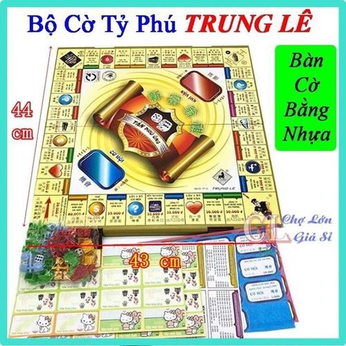 Bộ cờ tỷ phú bằng nhựa trung lê loại tốt - bộ đồ chơi cờ tỷ phú size 44 x 43cm hàng việt nam chất lượng cao - 17917409 , 22444465 , 15_22444465 , 79000 , Bo-co-ty-phu-bang-nhua-trung-le-loai-tot-bo-do-choi-co-ty-phu-size-44-x-43cm-hang-viet-nam-chat-luong-cao-15_22444465 , sendo.vn , Bộ cờ tỷ phú bằng nhựa trung lê loại tốt - bộ đồ chơi cờ tỷ phú size 44 x 4