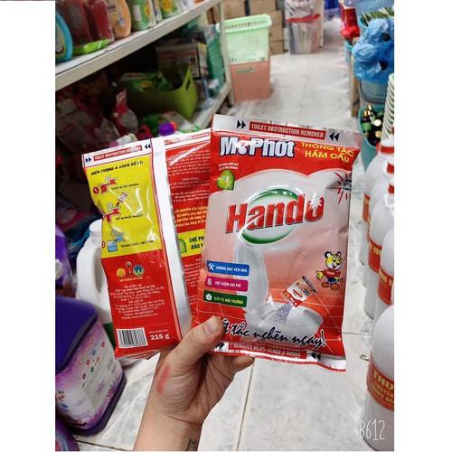 Bột thông tắc cống cực mạnh hando - sản xuất tại việt nam - 17915745 , 22441948 , 15_22441948 , 25000 , Bot-thong-tac-cong-cuc-manh-hando-san-xuat-tai-viet-nam-15_22441948 , sendo.vn , Bột thông tắc cống cực mạnh hando - sản xuất tại việt nam