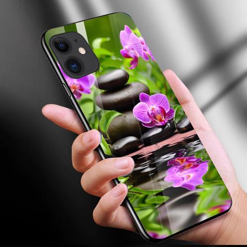 Ốp điện thoại kính cường lực cho máy iphone 11 - phong cảnh nét đẹp tự nhiên ms pcndtn008