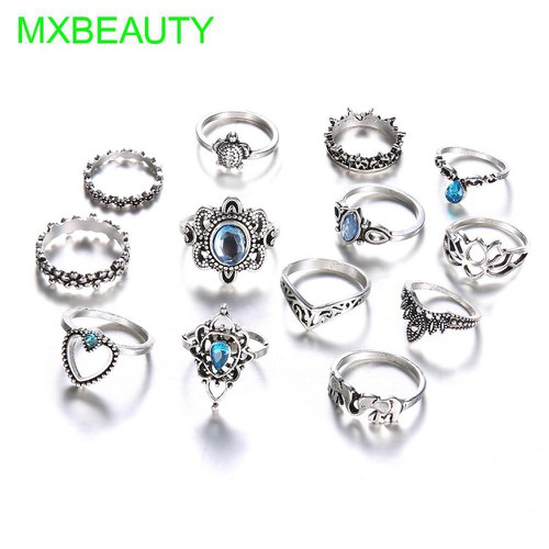 Bộ 13 chiếc nhẫn bạc hình vương miện vintage cho nữ - 18154708 , 22795303 , 15_22795303 , 63899 , Bo-13-chiec-nhan-bac-hinh-vuong-mien-vintage-cho-nu-15_22795303 , sendo.vn , Bộ 13 chiếc nhẫn bạc hình vương miện vintage cho nữ