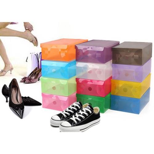 Combo 50 hộp đựng giày trong suốt nhiều màu gọi lh sđt 0987950950