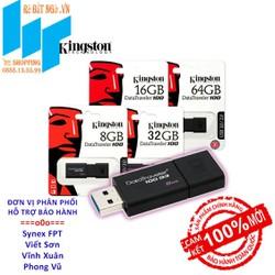 USB 3.0 Kingston DT100G3 Chính hãng BH 60T 64GB - 32GB - 16GB