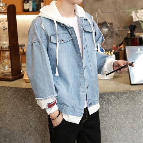 Áo khoác jean - áo khoác jean unisex cho trai xinh gái đẹp - hình thật và kiểm hàng mới nhận  chi24 - mua ngay