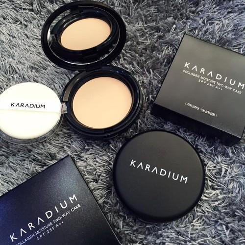 Phấn karadium collagen smart sun pact [ảnh thật]