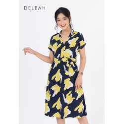De Leah - Đầm Suông Tay Lơ Vê - Thời trang Thiết Kế