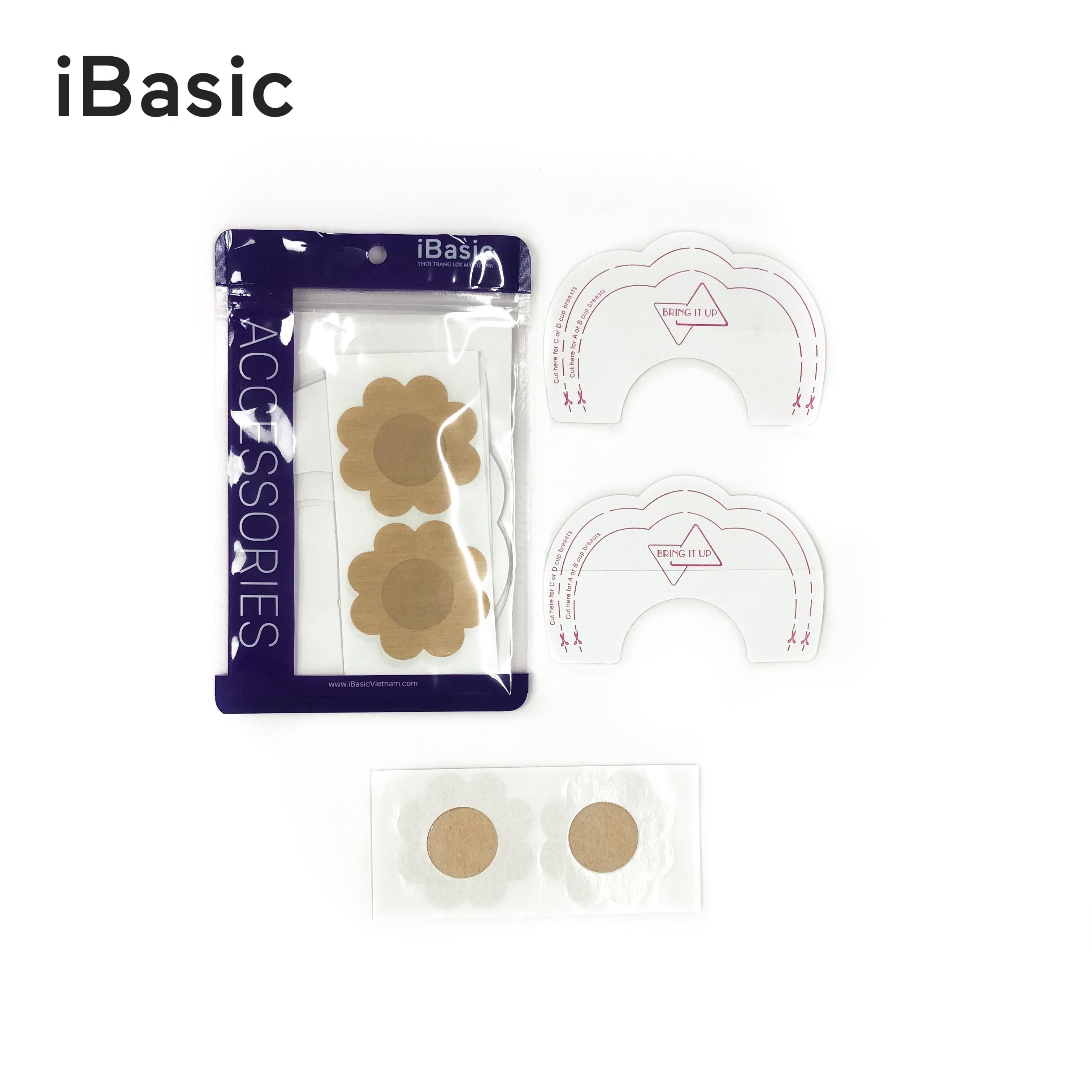 Set 5 cặp miếng dán ngực nhũ hoa nâng ngực iBasic PK095 - Màu da, giá chỉ  199,000đ! Mua ngay kẻo hết! | Store.SaleZone.Vn
