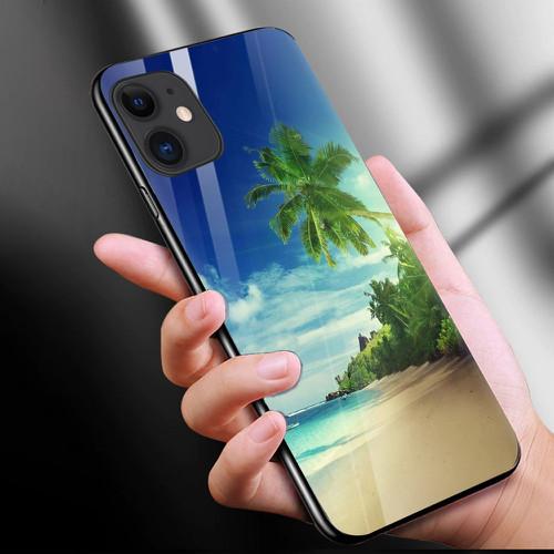 Ốp kính cường lực cho điện thoại iphone 11 - phong cảnh nét đẹp tự nhiên ms pcndtn019