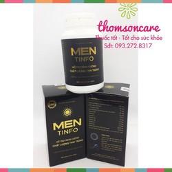 Viên uống tăng sức khỏe nam giới Men Tinfo - sinh lý nam