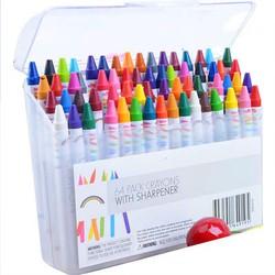 [Hỗ trợ 20k ship] Bộ bút màu 64 cây cho bé tập vẽ