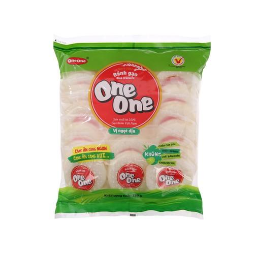 Bánh gạo vị ngọt dịu one one gói 230g - 17557606 , 22477220 , 15_22477220 , 25000 , Banh-gao-vi-ngot-diu-one-one-goi-230g-15_22477220 , sendo.vn , Bánh gạo vị ngọt dịu one one gói 230g