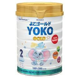 SỮA BỘT YOKO GOLD 2 850G Dành cho trẻ từ 1 đến 2 tuổi