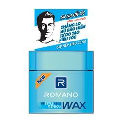 Wax tạo kiểu tóc cao cấp Romano Spiky giữ nếp siêu cứng 68gr