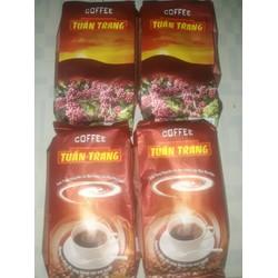 [nhập SD2022 giảm 20k] Combo 2 kg cafe Tuấn Trang bịch 500gr