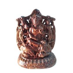 Tượng Phật Phổ hiền bồ tát cưỡi voi bằng gỗ cẩm khắc 2 mặt