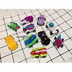 Đồ chơi combo 10 xe mini lắp ráp thành robot