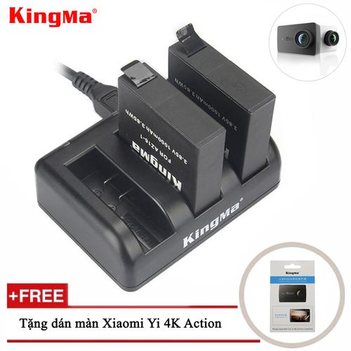 [Quà đỉnh 0đ] combo sạc 3 + 2 viên pin kingma cho xiaomi yi 4k action camera - tặng dán màn yi 4k action - 20439051 , 23237866 , 15_23237866 , 370000 , Qua-dinh-0d-combo-sac-3-2-vien-pin-kingma-cho-xiaomi-yi-4k-action-camera-tang-dan-man-yi-4k-action-15_23237866 , sendo.vn , [Quà đỉnh 0đ] combo sạc 3 + 2 viên pin kingma cho xiaomi yi 4k action camera - tặ