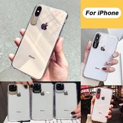 Ốp Lưng iPhone Viền Nhôm Bảo Vệ Camera Cực Đẹp