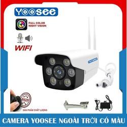 Camera ip Yoosee Ngoài trời C01 - Quay đêm có màu - Camera ip Yoosee Ngoài trời [ĐƯỢC KIỂM HÀNG] [ĐƯỢC KIỂM HÀNG]