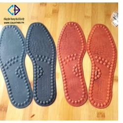 Lót giày da bò thoáng khí khử mùi, siêu nhẹ (LGD05)