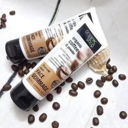 Tẩy da chết Organic shop Organic coffee Hương Vị Cafe