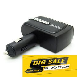 BỘ CHIA TẨU 2 Ổ CẮM + 1 USB cho ô tô
