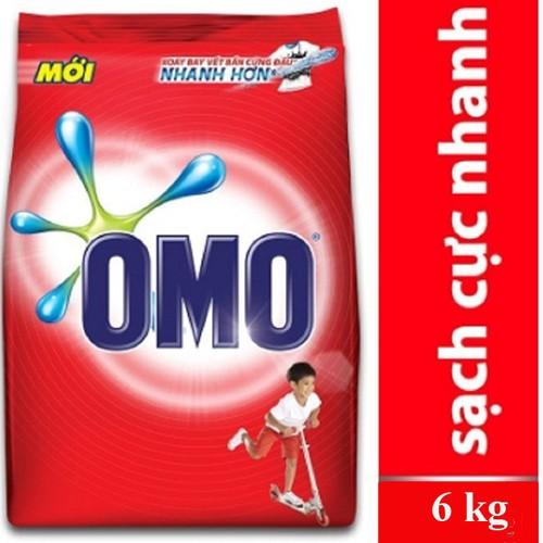 Bột giặt omo sạch cực nhanh dạng túi đỏ 6 kg - 20438813 , 23237570 , 15_23237570 , 238000 , Bot-giat-omo-sach-cuc-nhanh-dang-tui-do-6-kg-15_23237570 , sendo.vn , Bột giặt omo sạch cực nhanh dạng túi đỏ 6 kg