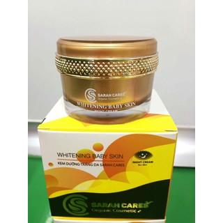 Kem dưỡng trắng da SC - SARAH CARES thích hợp sử dụng ban đêm - SCN0088 thumbnail