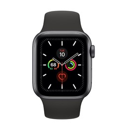 Apple Watch Series 5 LTE Aluminum Case With Sport Band - GREY - Hàng Nhập Khẩu