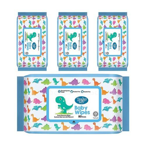 Combo 4 khăn ướt trẻ em tender soft xanh có mùi 80 tờ - 19914599 , 25089517 , 15_25089517 , 159000 , Combo-4-khan-uot-tre-em-tender-soft-xanh-co-mui-80-to-15_25089517 , sendo.vn , Combo 4 khăn ướt trẻ em tender soft xanh có mùi 80 tờ