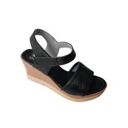 Giày Sandal Nữ Đế Xuồng BIGGBEN Da Bò Thật SĐX30