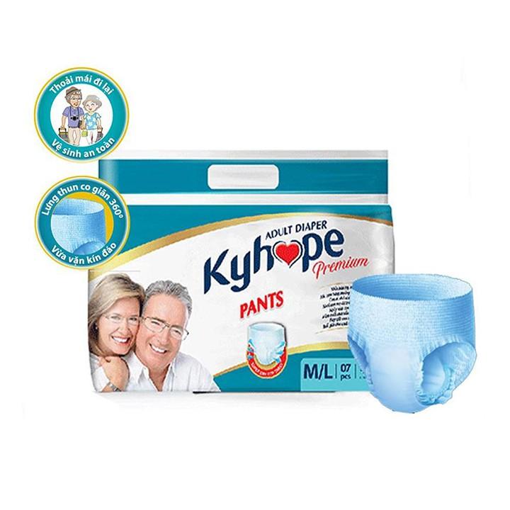 Tã quần dành cho người lớn Kyhope Premium M L 7 miếng - 2710141804