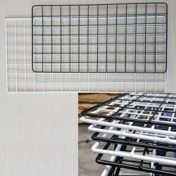 tấm lưới thép bọc nhựa PE trang trí
