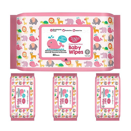 Combo 4 gói khăn ướt trẻ em tender soft hồng không mùi 80 tờ - 18967985 , 23227712 , 15_23227712 , 160000 , Combo-4-goi-khan-uot-tre-em-tender-soft-hong-khong-mui-80-to-15_23227712 , sendo.vn , Combo 4 gói khăn ướt trẻ em tender soft hồng không mùi 80 tờ