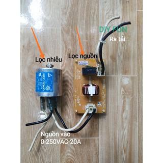 Lọc nguồn - Lọc nhiễu cho Audio cao cấp - Tokin VU-220F kèm mạch thumbnail