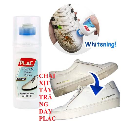 Qùa đỉnh o đồng combo 5 chai xịt tẩy trắng giày plac tặng 1 chai xịt tẩy trắng giầy plac