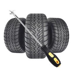 Dụng cụ nạy đinh cây tua vít lấy cạy đinh loại bỏ đá gạch cát lốp bảo vệ lốp xe tiện lợi nhỏ gọn cho xe hơi