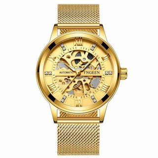 Đồng hồ cơ đồng hồ cơ nam dây nhuyễn - đồng hồ loại 1 thumbnail