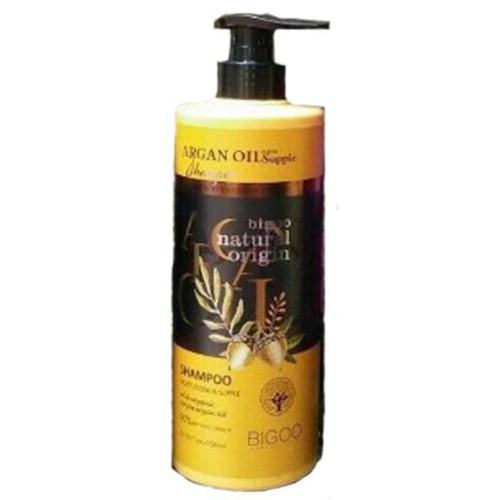 Dầu gội gừng tươi giảm rụng tóc-đau đầu-stress bigoo natural oringin 750ml ý