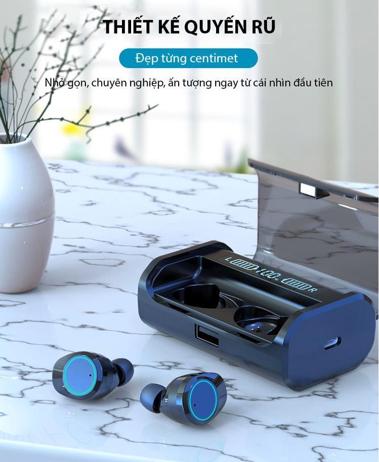 Tai nghe bluetooth nhét tai không dây 9D G06-TWS - Home and Garden - 1