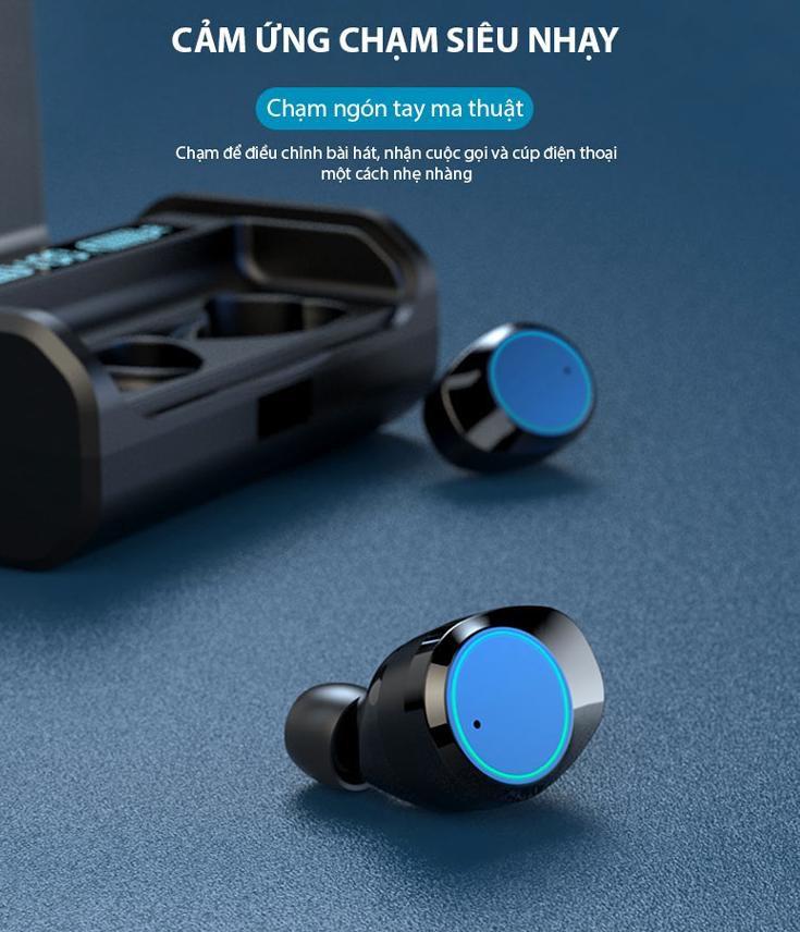 Tai nghe bluetooth nhét tai không dây 9D G06-TWS - Home and Garden