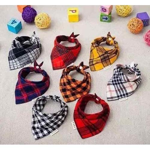Sét 5 khăn yếm tam giác cho bé