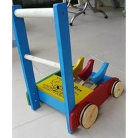 XE GỖ TẬP ĐI 3 CON GÀ CHO BÉ - XE GO TAP DI - XE GO TAP DI - xe gỗ tập đi cho bé