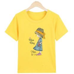 [Được Xem Hàng] Áo Thun nữ in hình Nice Day  PM1292 chất liệu Polly Cotton sản phẩm gian hàng Pumbaa